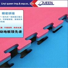 20mm x 1m x 1m Tatami Jigsaw Martial arts karate &Blue Red Gym Martial Arts Karate Judo Exercise Foam Floor Interlocking Mat