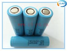 35A Samsung 18650 INR18650-25R 2500mah high power battery cell 3.6V