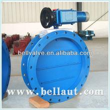 Motorized Stainless Steel damper butterfly valve supplier