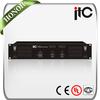 ITC T-2S60 Series 60 Watt or 120 Watt 2 Channel Stereo Audio Public Address Amplifier