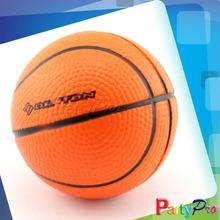 2014 Hot Sale Basketball Stress Ball With Stand Free Custom Stress Balls