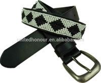 Handmade beaded belt for fashion lady