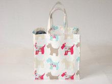 Small Cute Tote Bag Laminated Photo Print Shopping Bag