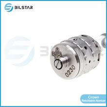 2014 China manufacturer new design atomizer clone 1:1 crown atomizer cloud v2 in stock
