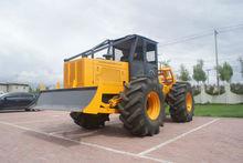 log trailer farm tractor