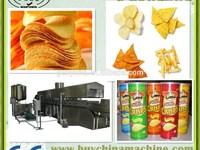 semi-automatic Fresh Potato Chips China Snack Procution Machinery/ fresh potato chips making machine/economic small scale fresh