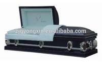 Blue crepe interior 18 gauge metal casket(YXZ-1849)