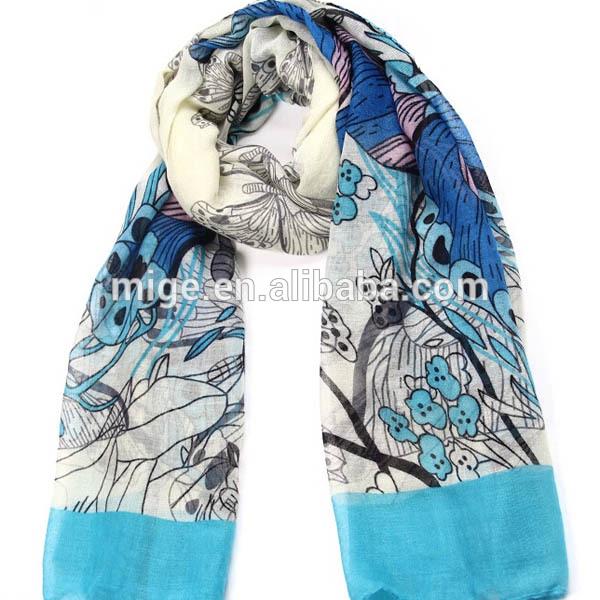2015 Custom Printed Scarves