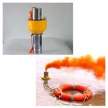 Lifebuoy Self-igniting Light and Self-activating Smoke Signal