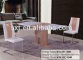 nuovo design tavolo da pranzo in legno di estensione con rovere di carta