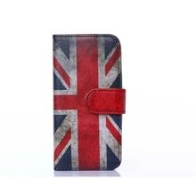 Retro Vintage UK Flag Pattern Wholesale Mobile Phone Case for Apple iphone 6, Bulk Sale Leather Phone Case for Apple iphone 6