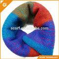 tela de lana de colores varios de tejer la bufanda patrones