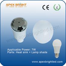 cost -effective led globe bulb parts 7W