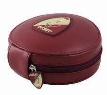leather CD Holder DVD Case Storage Wallet Disc Organizer, View CD holder
