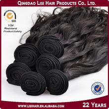 Gold Supplier Qingdao Lisi Real Remy 7A Grade Virgin Human Hair