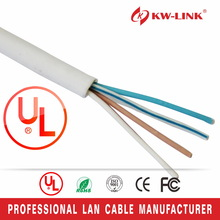 Durable original uv protection cable telephone 6 wires