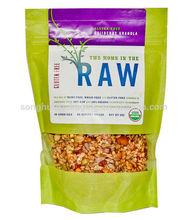 Organic granola packing bag / Stand up food bag /Plastic food bag