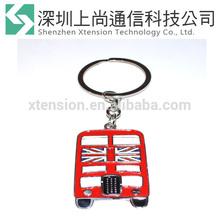 Bueaty gift cute Metal Keychain Red London Bus Keyring