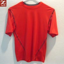 custom design 92% polyester 8% spandex mens t shirt