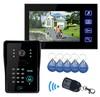 Excellent Design apartment touch button internet video door phone intercom system