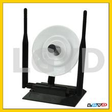 360000N 2.4GHz 3800mW 802.11b/g 54Mbps USB 2.0 Wireless WiFi Network Adapter, 38dBi Gain Antenna, Support Network Decoder