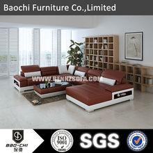Baochi custom made sofa cushion,imported wood furniture,italian transformer sofa C1128-B