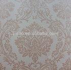 Good quality custom-made printable textured pvc wallpaper