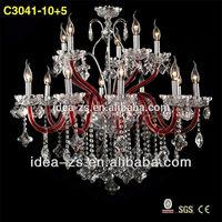 pendant light modern fancy chandelier crystal maria kristall lampe