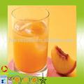شهادة العضوية عصير الفاكهة الطازجة نوعية عصير الخوخ المركزة