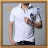 muscle white polo shirt short sleeve mens polo shirt brand names