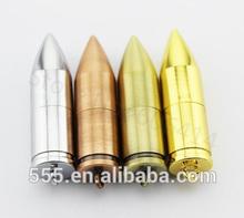 Metal bullets 16 gb usb flash drive