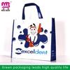 Guangzhou top manufacturer new eco silk screen woven shopping bag