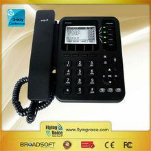 office/hotel wifi sip desk phone 4 line keys wifi phone IP542N with POE