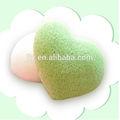 2014 más- popular venta al por mayor de konjac esponja de la piel para el cuidado facial