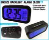Manufacturer led back light clock, creative digital intelligent alarm clock
