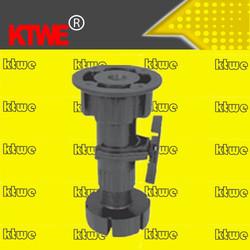 china manufacturer plastic adjustable cabinet leg