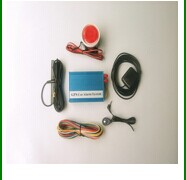 GPS car alarm with camera with spanish voice operation menu