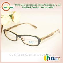 Jaune clair verres'articulation personnalisée. d'imitation.italienne. marques. vintage. acétate de montures de lunettes