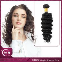 peruvian deep curly wavy hair cuticle wavy peruvian ocean wave hair unprocessed peruvian virgin hair