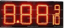 Best Easy operation 12 inch led oil price display screen