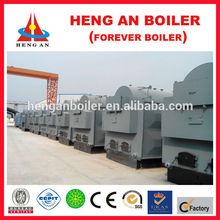 industry energy-saving efficient coal/wood 1000kg/hr steam boiler