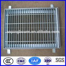 high quality galvanized bar grating treach cover