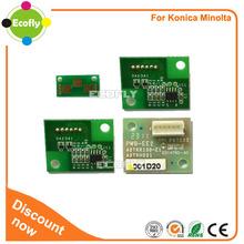 Compatible toner chip C654T for Minolta bizhub C654 754 Toner for konica minolta spare parts