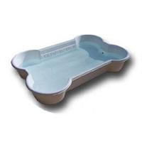 OEM plastic products manufacturer, bone shape plastic dog pool