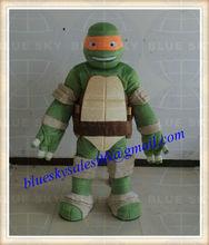 Custom teenage mutant ninja turtles mascot costume,accept paypal