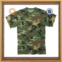 cheap wholesale custom men's woodland t shirt