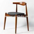 Restaurante móveis de nogueira cadeira de madeira sólida para Restaurent