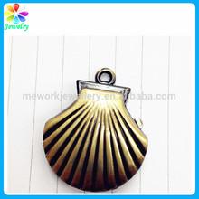Engraved Alloy Metal Clock Pocket Watch Bracelet Keychain Necklace Brass Shell Keychain