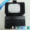 Silicone usb keyboard case with leather case for 7inch MID tablet pc