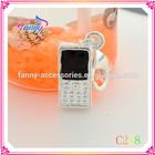 C228 Promotional Fashion Alloy Hand Chain Pendants Alloy Pendants Charms Phone Shaped Pandants